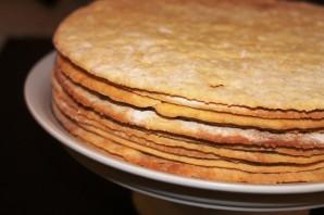 Медовый торт в заварном тесте - фото шаг 7