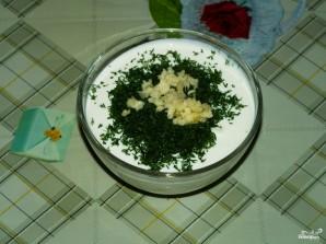 Сметанно-чесночный соус - фото шаг 4