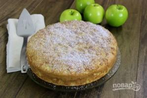 Воздушный пирог с яблоками - фото шаг 7