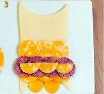 Бутерброды на день рождения ребенка - фото шаг 3