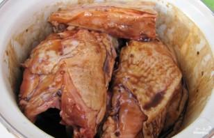 Курица кусочками в соусе в духовке - фото шаг 2