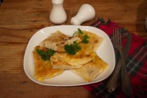 Лаваш с ветчиной и твердым сыром - фото шаг 5