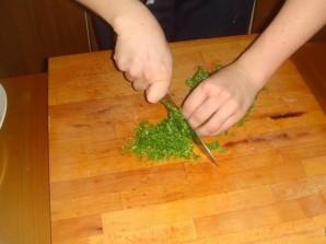 Картошка с зеленью и чесноком - фото шаг 4