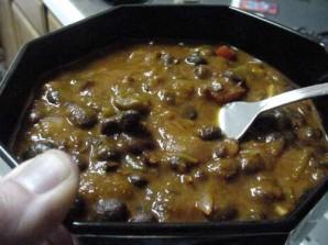 Вегетарианская черная фасоль Чили - фото шаг 9