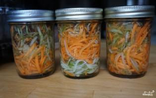 Кабачки с морковкой на зиму без стерилизации - фото шаг 5