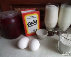 Пирог с вареньем на скорую руку - фото шаг 1