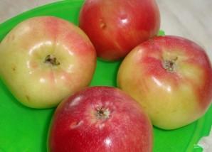 Слойки с яблоками из слоеного теста - фото шаг 1