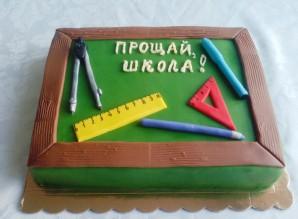 Торт на выпускной - фото шаг 8