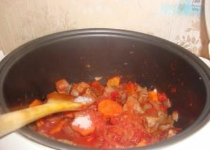 Суп из говядины в мультиварке - фото шаг 7