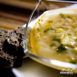 Суп из консервированного тунца - фото шаг 10