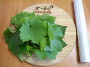 Виноградные листья на зиму - фото шаг 1