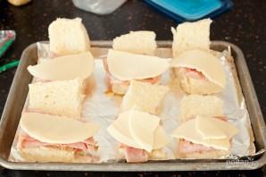 Простые сэндвичи с пикантным соусом - фото шаг 3