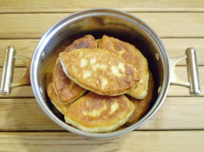 Пирожки с яйцом и зеленью - фото шаг 19