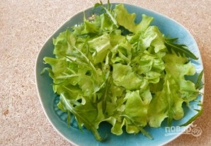 Салат с авокадо и морепродуктами - фото шаг 3