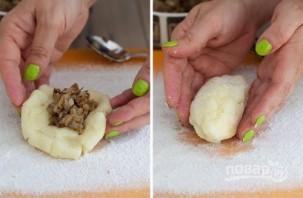 Пышные картофельные зразы - фото шаг 6