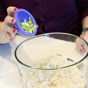 Салат с крабовым мясом - фото шаг 3