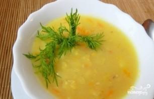 Гороховый суп с мясом - фото шаг 5
