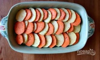 Запеканка картофельная с тыквой - фото шаг 1