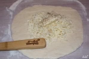 Хачапури с сулугуни - фото шаг 4