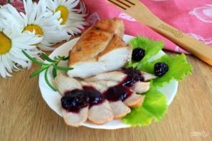 Куриная грудка с вишневым соусом - фото шаг 8