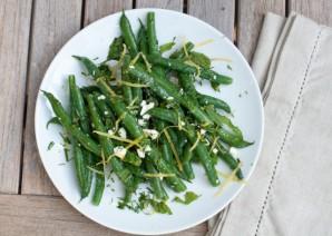 Салат из спаржевой фасоли - фото шаг 7