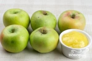 Печеные яблоки с медом - фото шаг 1