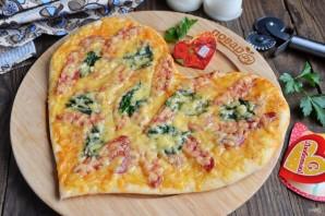 Пицца на 14 февраля - фото шаг 9