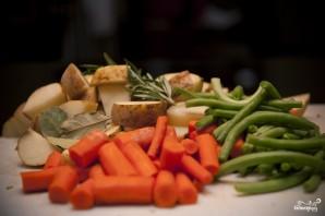 Говядина с овощами и картофелем - фото шаг 6