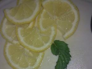 Коктейль с лимоном - фото шаг 1