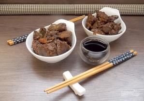 Куриная печень по-азиатски - фото шаг 6