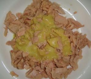 "Сэндвич с салатом ""Ницца"" - фото шаг 2"