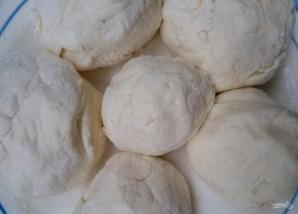 Вареные сырники для детей - фото шаг 3