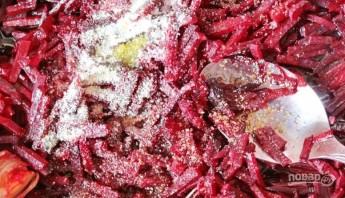 Салат с гранатом и орехами - фото шаг 5