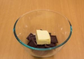 Шоколадный флан - фото шаг 1