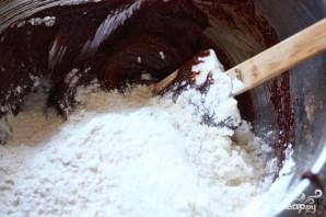 Шоколадные пирожные с солью - фото шаг 3