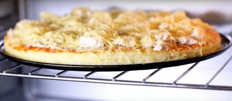 "Рецепт пиццы ""Курица с ананасами"" - фото шаг 10"