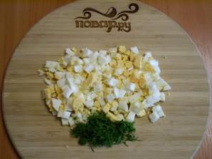 Яичный суп с курицей - фото шаг 5