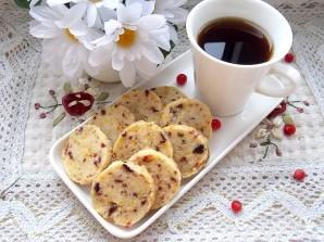 Клюквенно-апельсиновое печенье - фото шаг 11