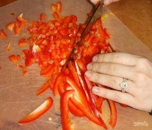 Легкий салат с фасолью - фото шаг 1
