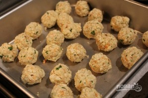 Овощные шарики в подливе - фото шаг 3