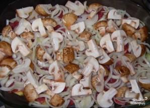 Свинина по-французски с грибами - фото шаг 3