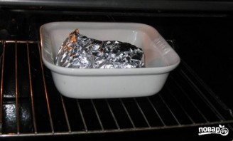 Палтус, запеченный в духовке - фото шаг 4