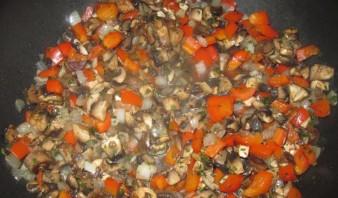 Фаршированные макароны ракушки с грибами - фото шаг 2
