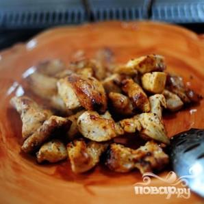 Макароны с курицей и овощами - фото шаг 8