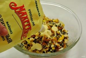 Волованы с салатом из кукурузы и грибов - фото шаг 21