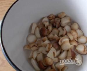 Грибной суп с мясом - фото шаг 2