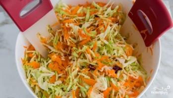 Капустный салат с клюквой - фото шаг 5