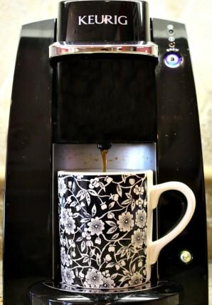 Кофе латте - фото шаг 1