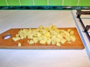 Суп грибной с мясом - фото шаг 2