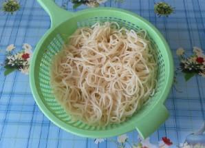 Спагетти с мясным фаршем - фото шаг 2